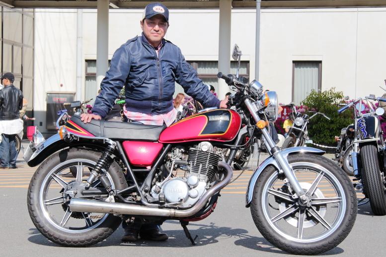 rider s snap あーげさん yamaha sr400 1983 the sr times